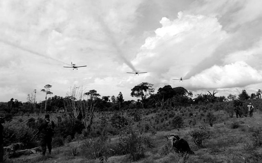 Colombia fumigaciones cultivos ilicitos la-tinta