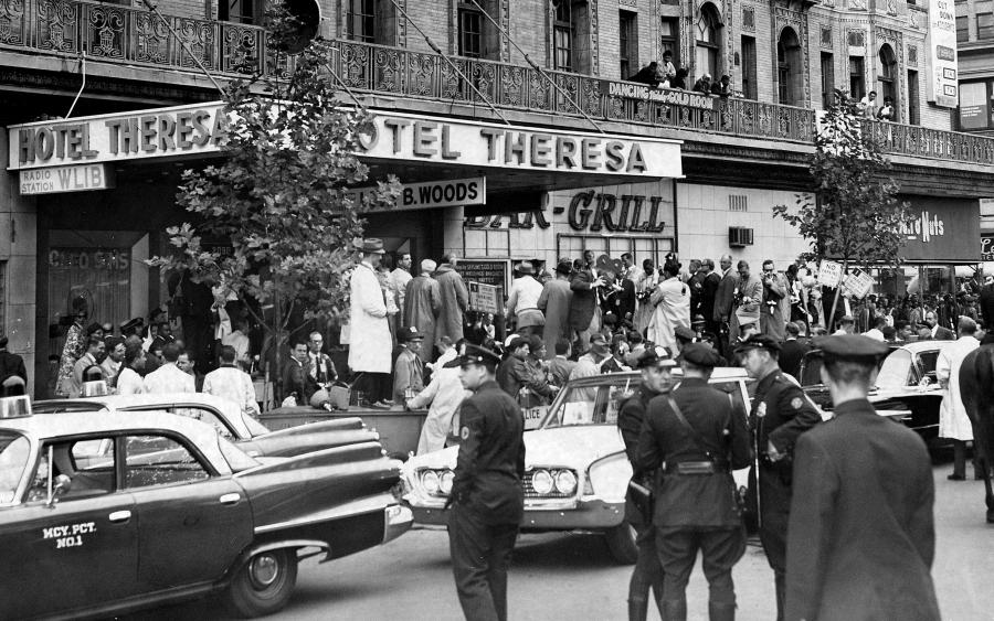 Estados Unidos Fidel Castro en Harlem la-tinta