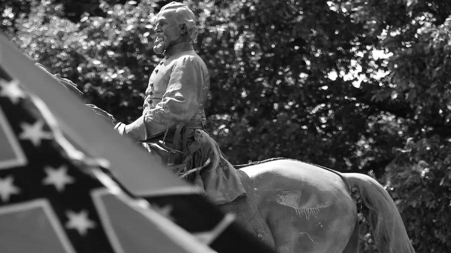Estados Unidos General Forrest Confederacion bandera la-tinta