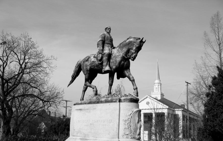 Estados Unidos General Robert Lee monumento la-tinta