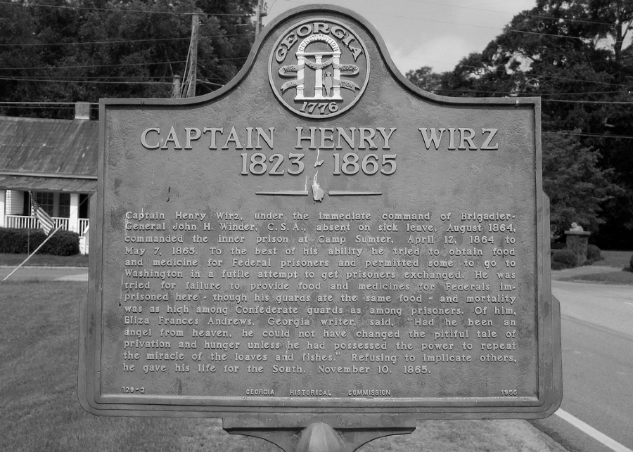 Estados Unidos Henry Wirz Georgia la-tinta