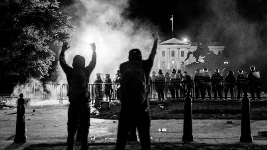 Estados Unidos casa Blanca protestas George Floyd la-tinta