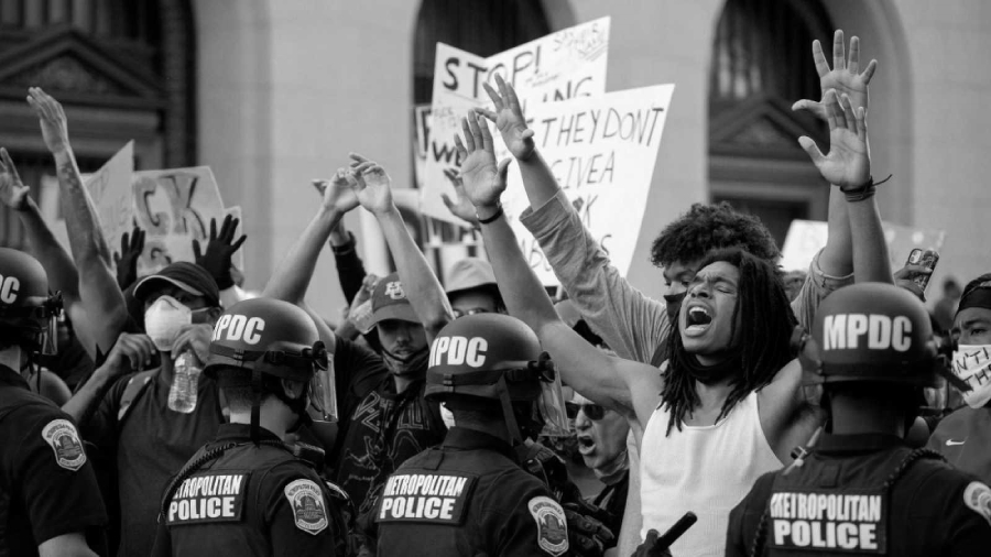 Estados Unidos manifestaciones contra la policia la-tinta
