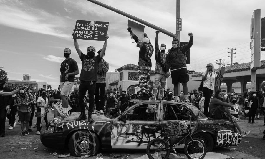 Estados Unidos manifestaciones por George Floyd la-tinta