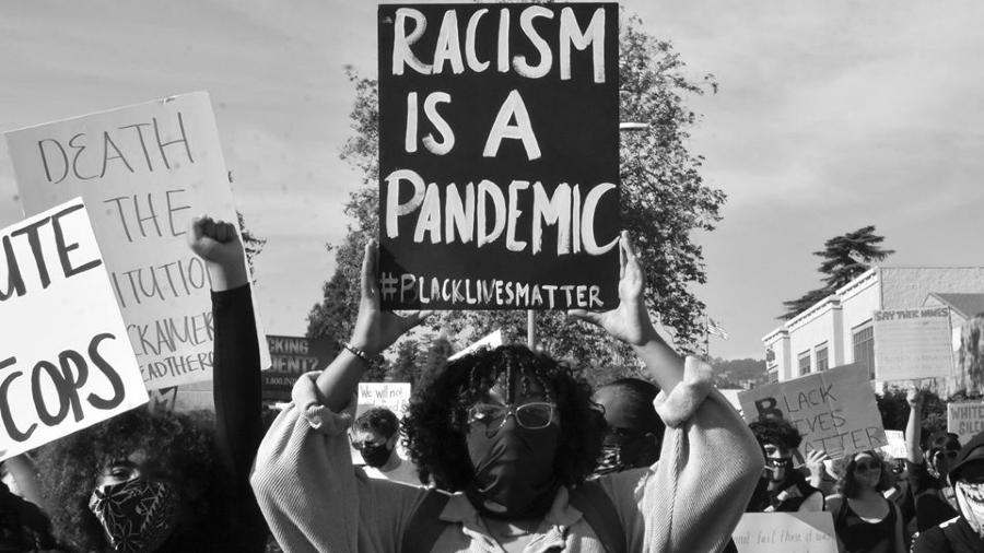 Estados Unidos marcha contra el racismo la-tinta