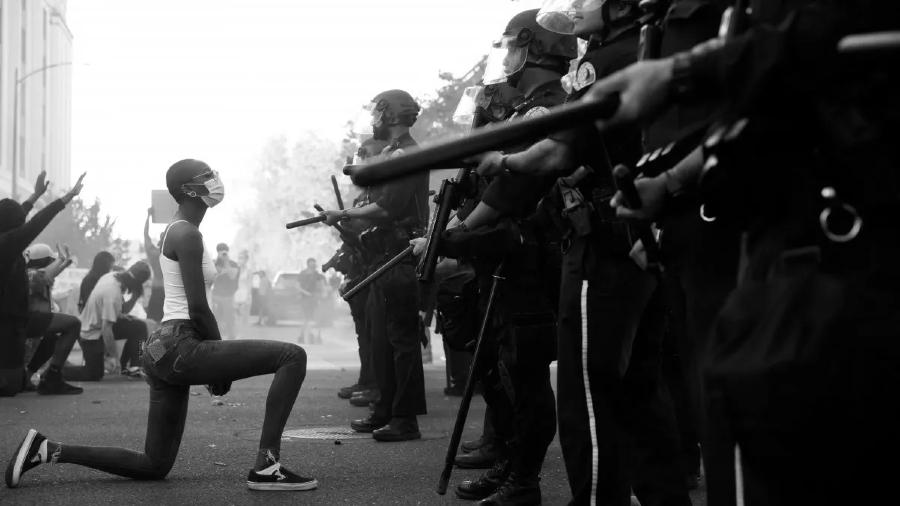 Estados Unidos represion afroamericanos la-tinta