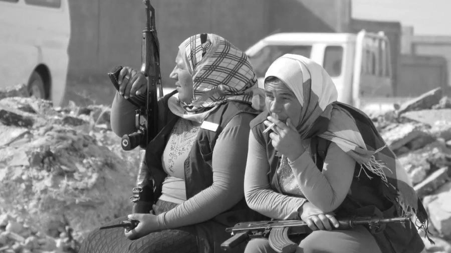 Kurdistan Rojava fuerzas de autodefensa la-tinta
