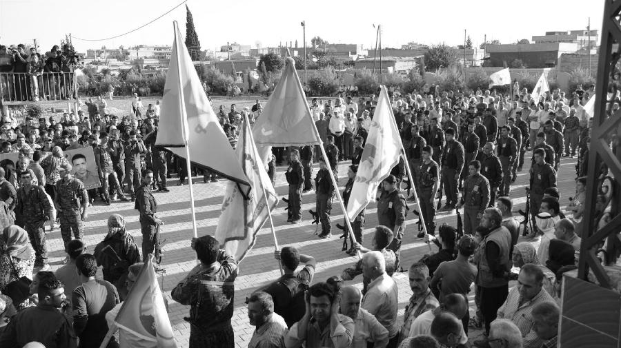 Kurdistan Rojava fuerzas de seguridad interna la-tinta