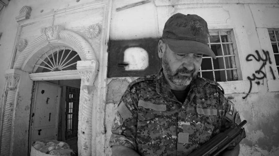 Kurdistan Shengal comandante YBS Bahuz Sores la-tinta