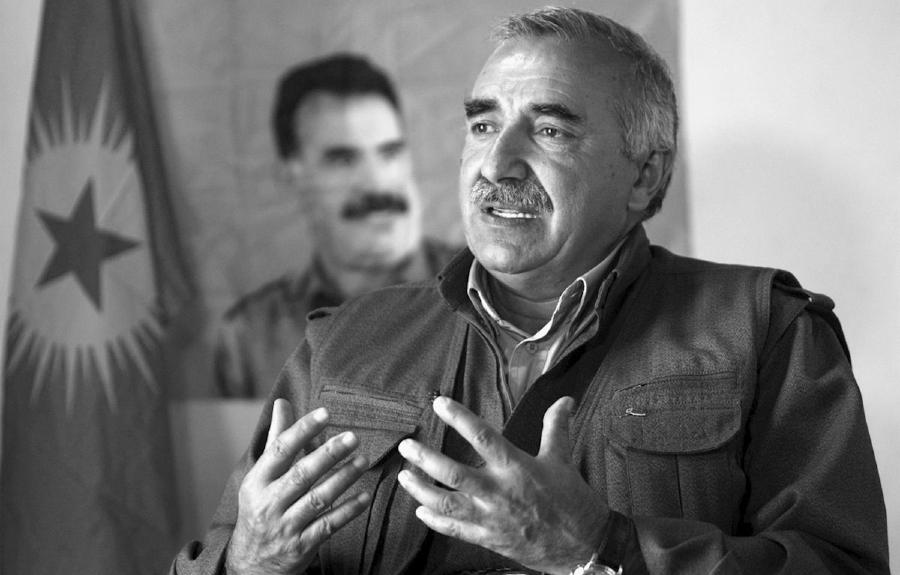 Kurdistan comandante Murat Karayilan la-tinta