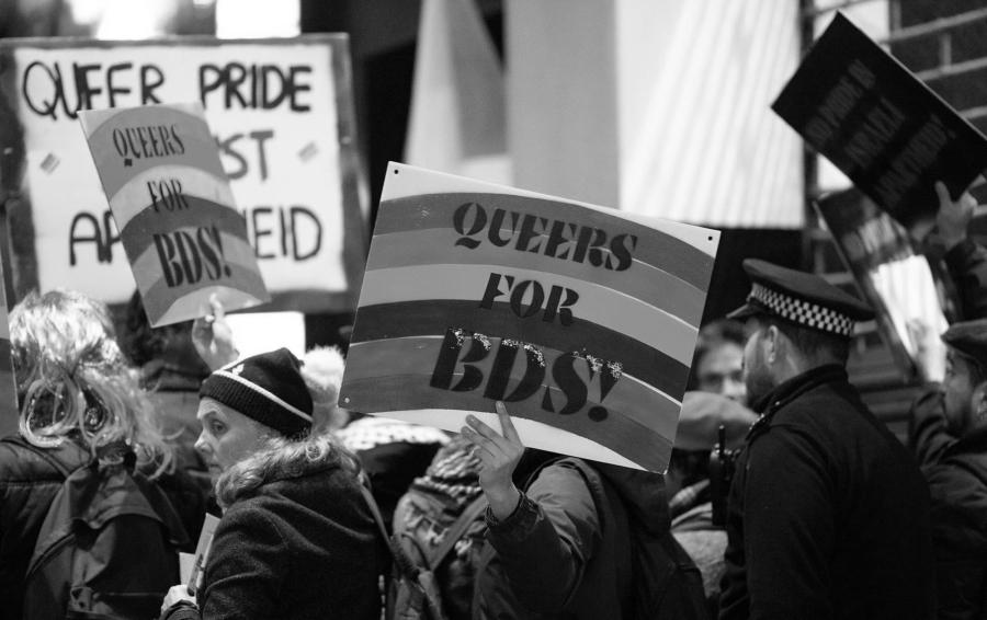 Palestina BDS Queers la-tinta