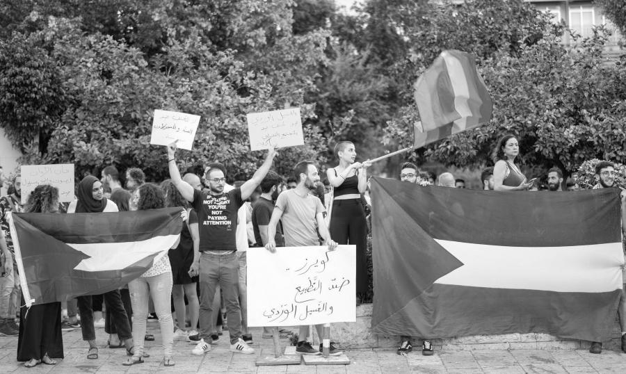 Palestina colectivo LGBTI protesta la-tinta