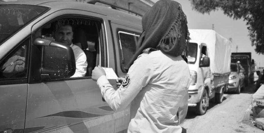 Rojava Assayish mujeres la-tinta