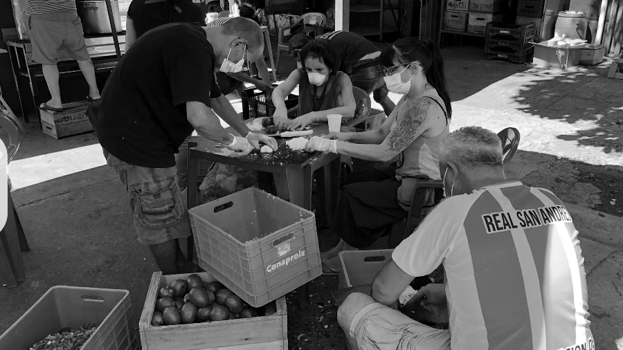 Uruguay Montevideo mercado popular la-tinta
