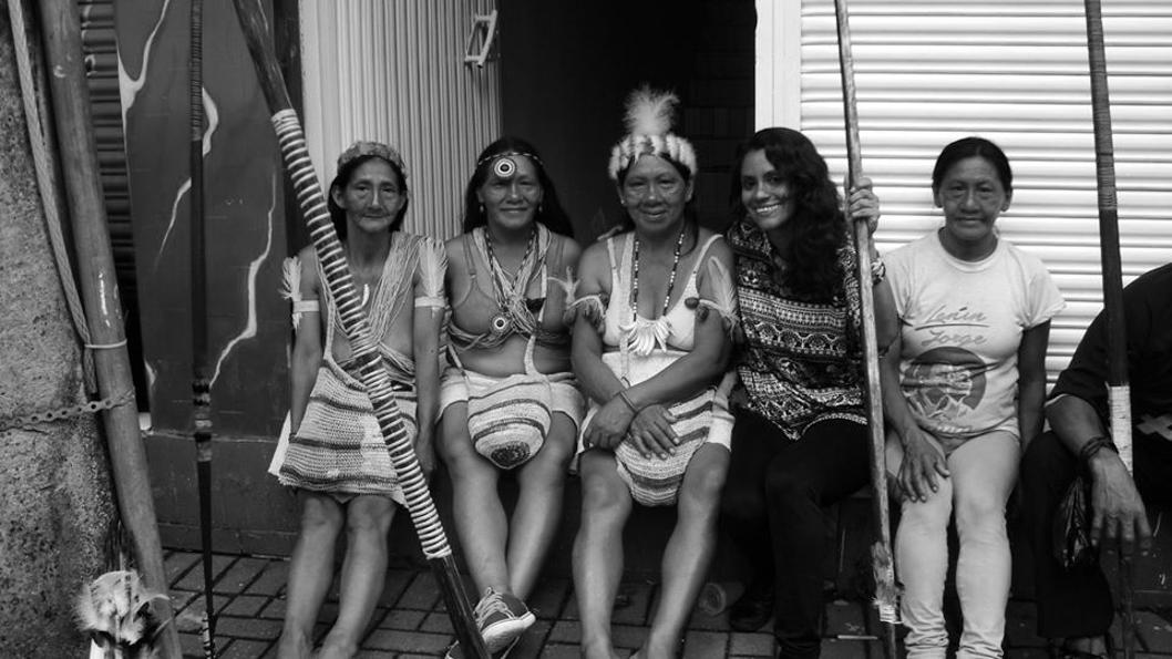 mujeres-waoranis-El-Coca-Ecuador-Cecilia-Basaldúa-Isla-Uros-femicidio