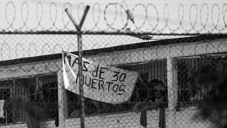 Virus Outbreak Colombia Prison Riot