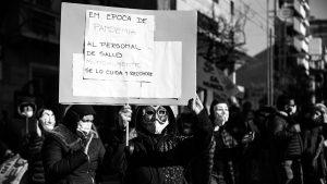 Residentes de Córdoba reclaman el pago del bono prometido al personal de salud