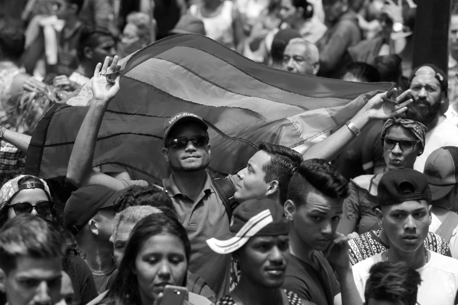 venezuela marcha lgbt caracasla-tinta