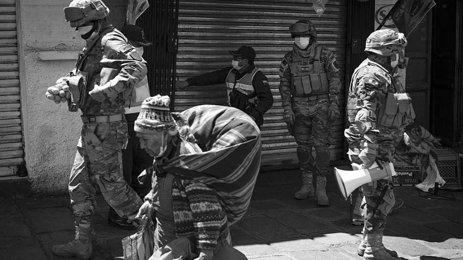 Bolivia militares coronavirus la-tinta