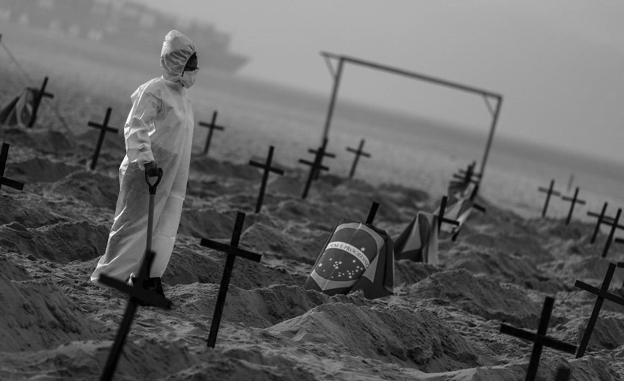 Brasil coronavirus muertos cementerio la-tinta