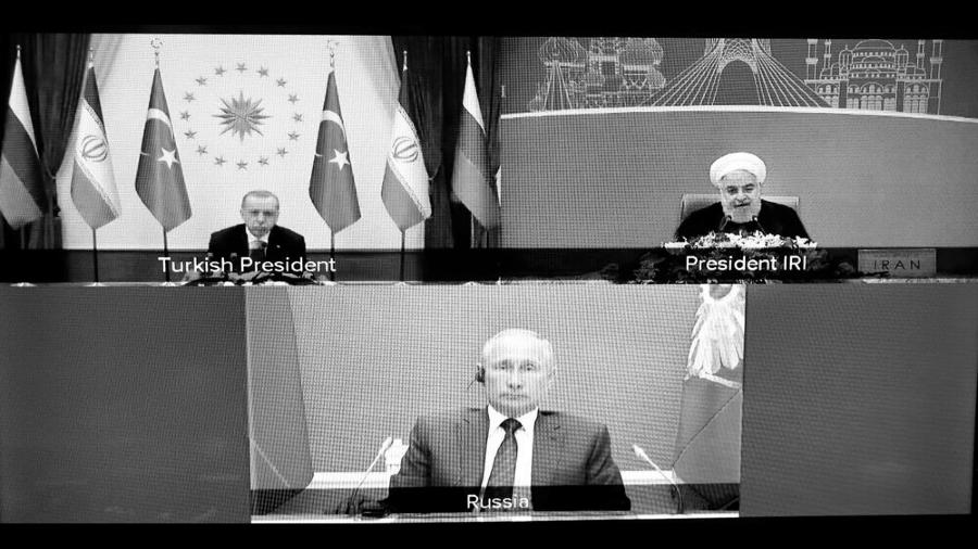 Cumbre de Astana presidentes la-tinta