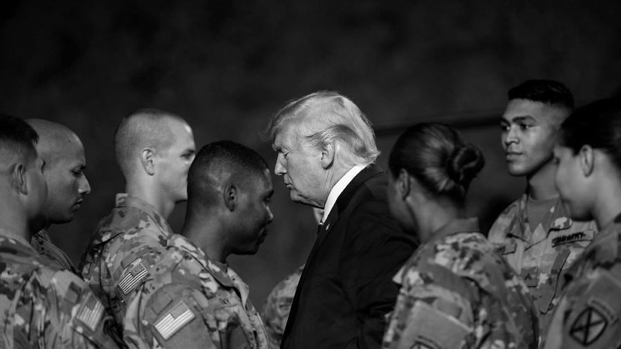 Estados Unidos Donald Trump militares la-tinta