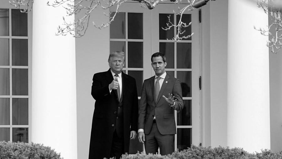 Estados Unidos Juan Guaido Donald Trump la-tinta