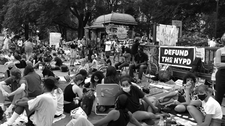 Estados Unidos New York Occupy City Hall la-tinta