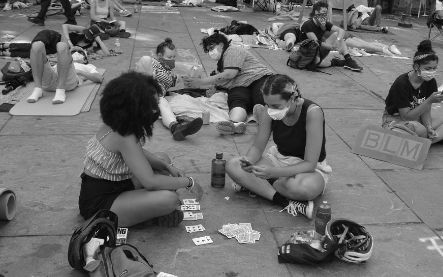 Estados Unidos Occupy City Hall la-tinta