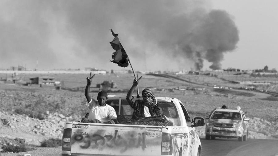 Libia guerra civil la-tinta