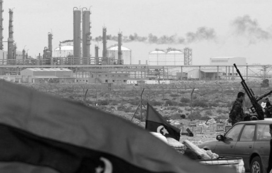 Libia petroleo refineria la-tinta