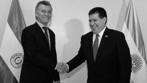 Los intereses impostergables entre Mauricio Macri y Horacio Cartes