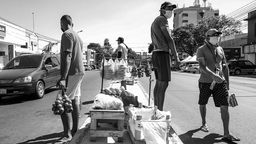 Paraguay coronavirus vendedores ambulantes la-tinta
