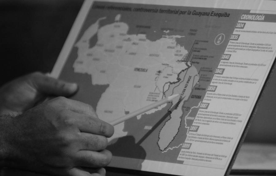 Venezuela Guayana Esequibo la-tinta