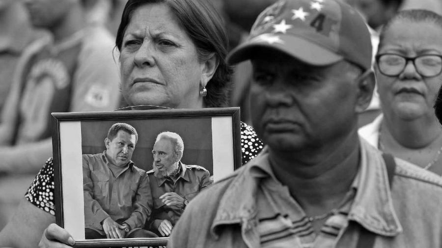 Venezuela Hugo Chavez Fidel Castro la-tinta