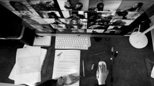 El aula en cuadritos: apuntes sobre un escenario de exámenes en pantalla