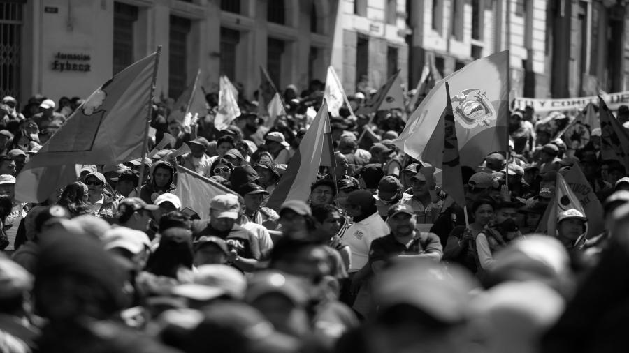 ecuador protestas contra gobierno la-tinta