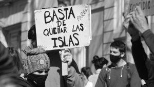 """Incendios en las islas: """"Ni Perotti ni Cabandié han dado ninguna respuesta"""""""