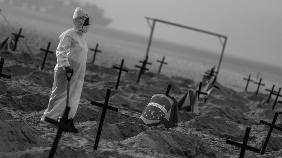 Brasil coronavirus playas la-tinta