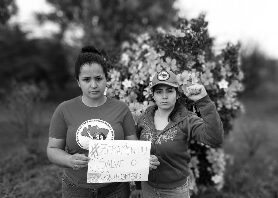 Brasil solidaridad Quilombo Campo Grande la-tinta