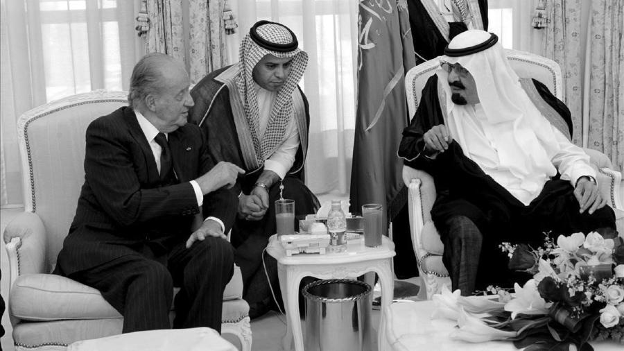 España rey Juan Carlos Arabia Saudi la-tinta