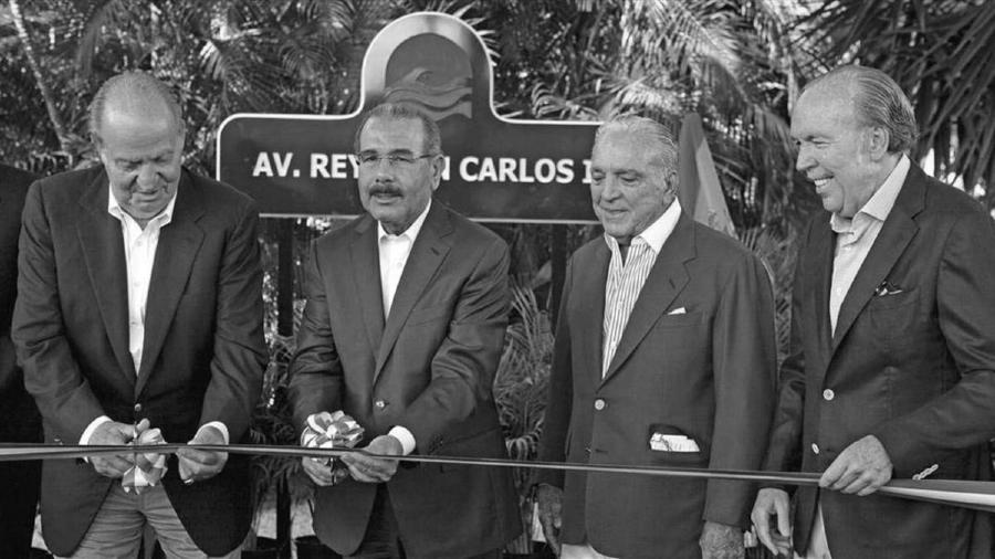 España rey Juan Carlos Familia Fanjul la-tinta