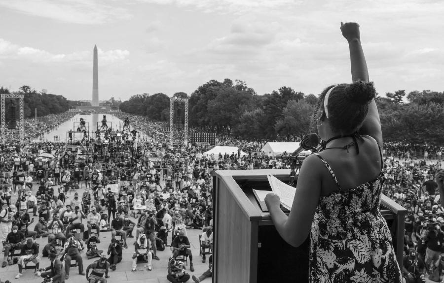 Estados Unidos Washington protestas la-tinta