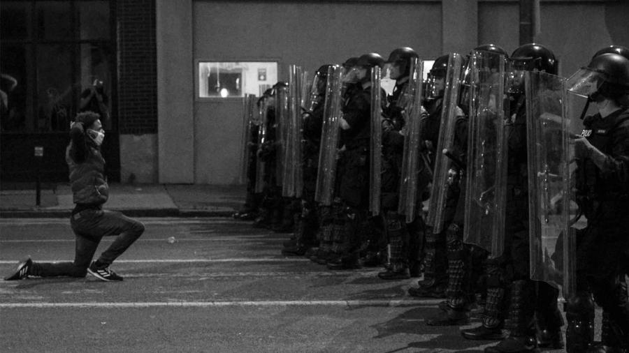 Estados Unidos protestas contra policia la-tinta