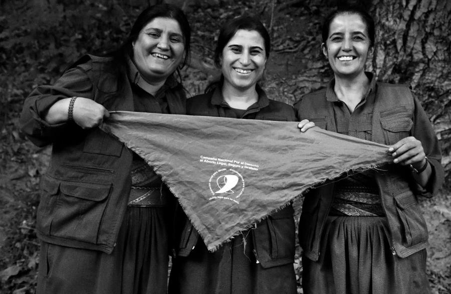 Kurdistan campaña aborto legal la-tinta
