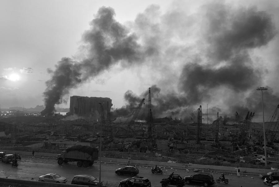 Libano Beirut explosiones puerto la-tinta