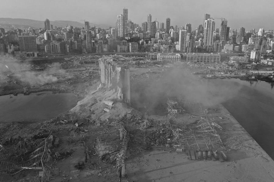 Libano explosion puerto destruccion la-tinta