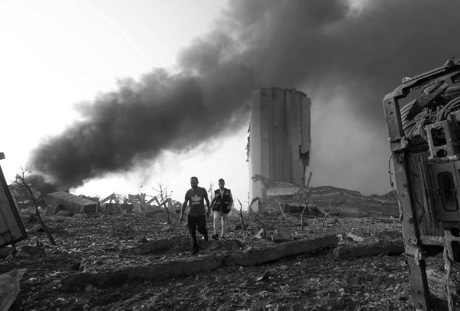 Libano explosion sobrevivientes la-tinta