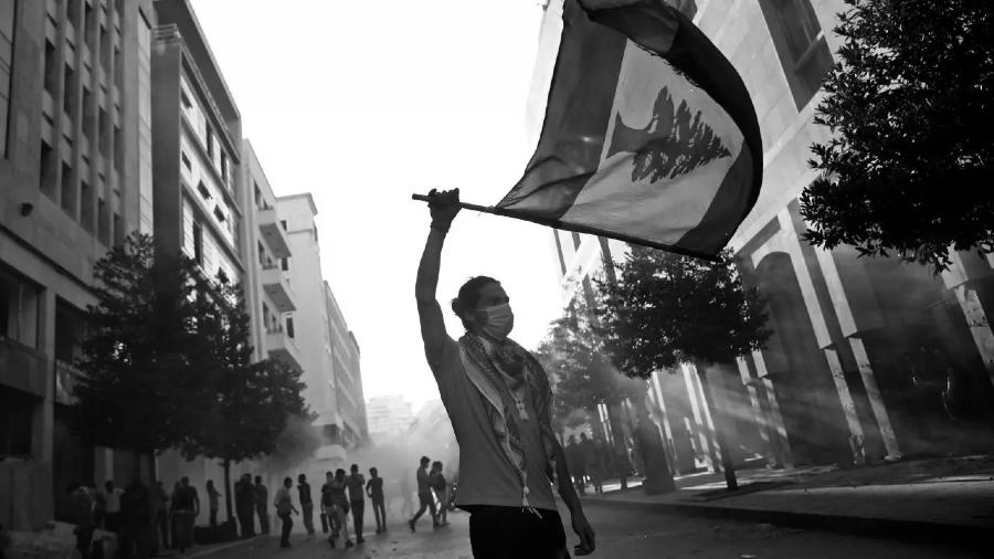 Libano protestas calles Beirut la-tinta