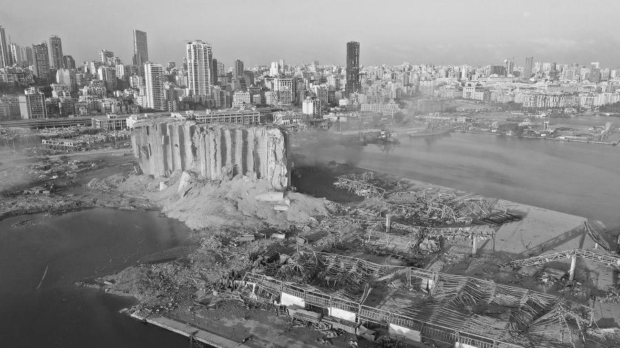 Libano puerto Beirut explosion la-tinta